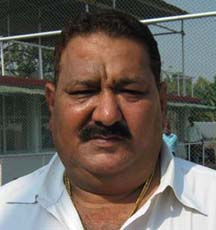 Union Sporting Club secretary Pradeep Chauhan in Cuttack on April 3, 2010.
