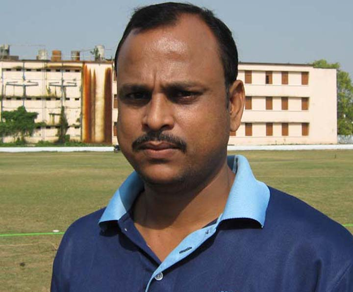 Orissa cricketer Bipin Singh in Cuttack on April 3, 2010.