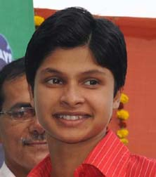 File photo of Orissa woman athlete Srabani Nanda.