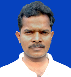 File photo of sports reporter Sarbeswar Mohanty.