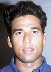 File photo of former Orissa cricket captain Rashmi Ranjan Parida.