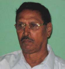 Former Orissa football captain Deba Singh in Bhubaneswar in May, 2010.