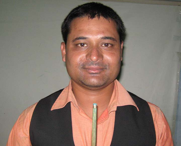 Satyadeep Das at Cuesport Academy, Bhubaneswar on July 11, 2010.