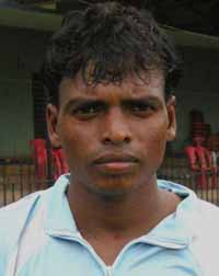 Orissa footballer Rama Murmu in Cuttack on August 1, 2010.