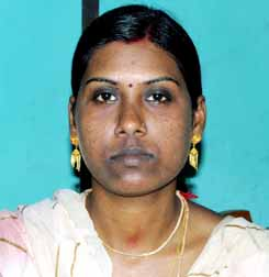File photo of Orissa international woman rower Mamata Jena.