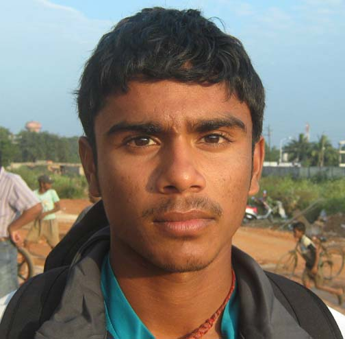 File photo of Orissa cricketer Govind Poddar