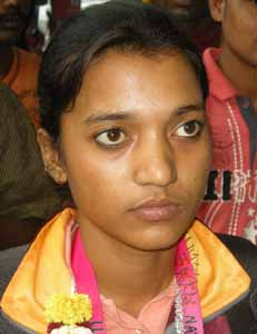 International woman footballer turned coach Sarita Jayanti Behera