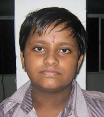 File photo of Orissa chess player Rakesh Kumar Nayak