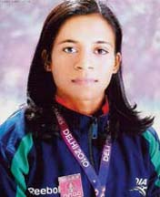Orissa woman athlete Jauna Murmu