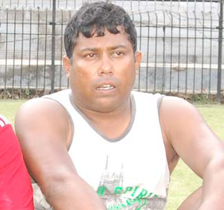 File photo of Orissa cricketer George Paul Robinson