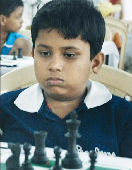 File photo of Orissa chess player Subhasish Barik