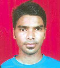 File photo of Orissa cricketer Soumendra Das