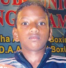File photo Orissa boxer Akshaya Nayak