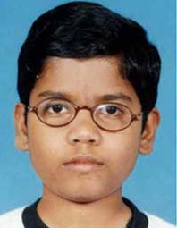File photo of Orissa chess player Utkal Ranjan Sahu