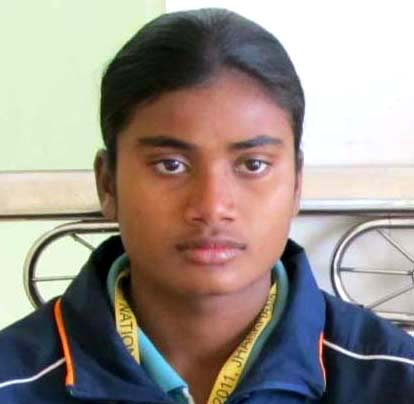 File photo Odisha woman athlete Purnima Hembram