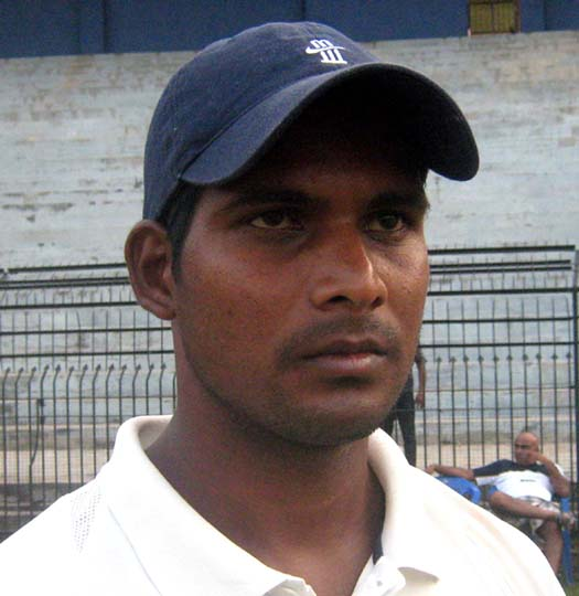 File photo of Odisha all-rounder Deepak Behera