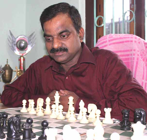 File photo of Odisha chess player-turned-coach Satya Ranjan Patnaik