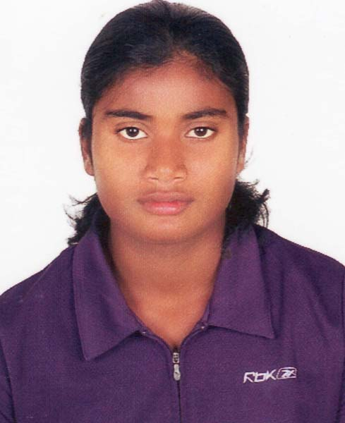 File photo of Odisha athlete Purnima Hembram