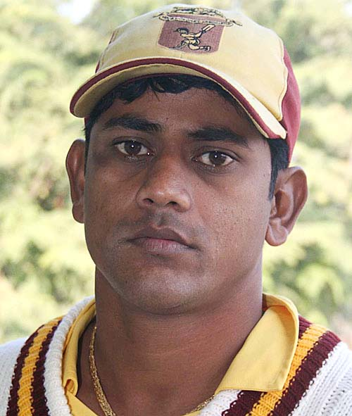 File photo of Odisha middle order batsman Rashmi Ranjan Das