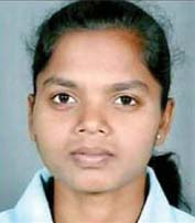 File photo of Odisha woman hockey international Anupa Barla