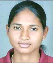 File photo of Odisha woman hockey international Lilima Minz