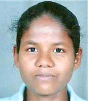 File photo of Odisha woman hockey international Namita Toppo