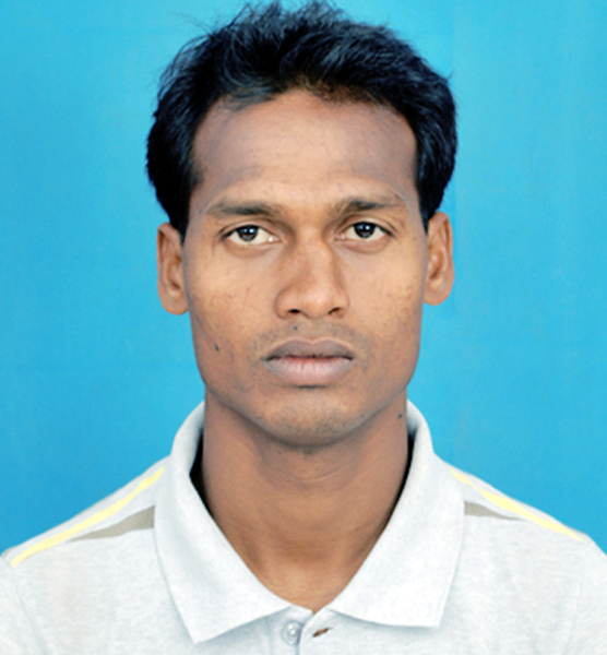 Odisha football player tunred coach Akshya Das