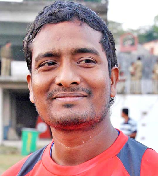File photo Odisha cricketer Niranjan Behera