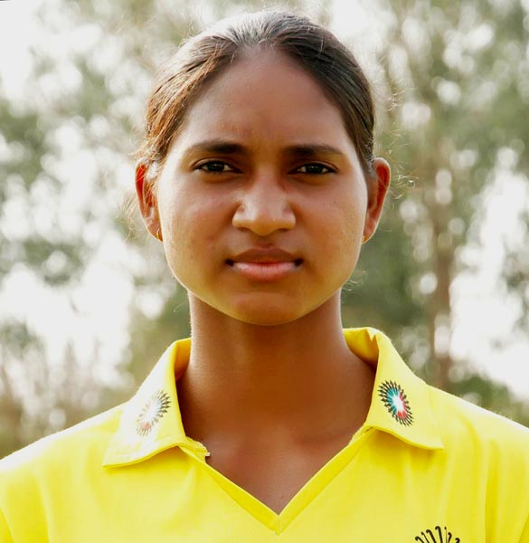 Woman hockey international Lilima Minz in Patiala on June 28, 2014.