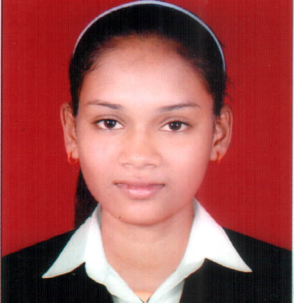 File photo of Odisha woman football player Anjali Barua