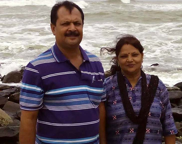 A file photo of Odisha coach couple Ajit Mishra (Cricket) and Ranjita Mishra at an unknown place.