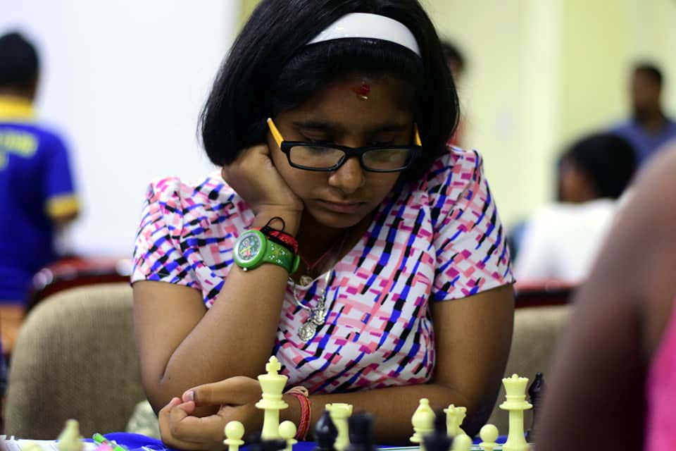 File photo of Odisha chess player P Sairupa