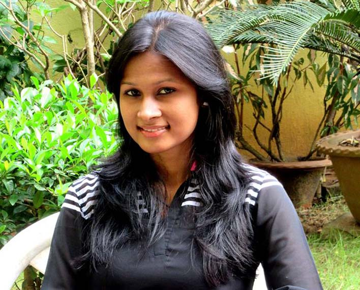 File photo of leading Odisha woman shooter Lipsa Sethi.