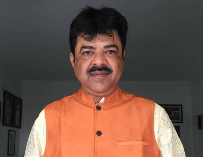 File photo of Odisha cricketer-turned-politician Lalitendu Bidyadhar Mohapatra.