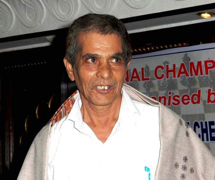 File photo of Odisha chess legend Pabitra Mohan Mohanty