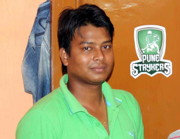 File photo of former Odisha forward Bruno Lugun