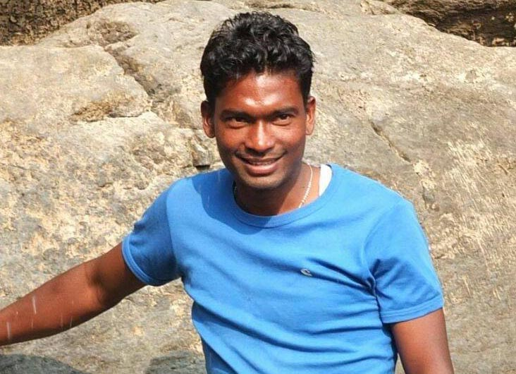 File photo of Odisha and India forward Amon Mirash Tirkey
