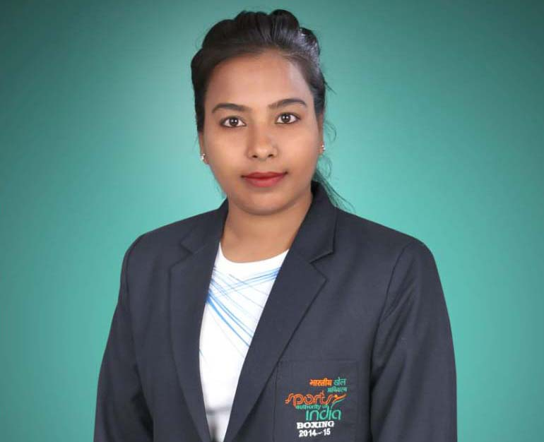 File photo of Odisha woman boxing coach Manarama Maharana.