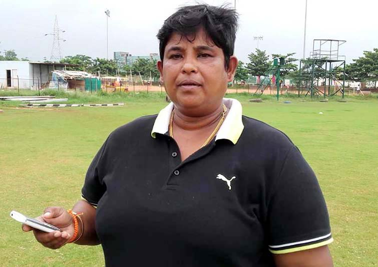 File photo of Odisha and KIIT University woman cricket coach Rashmita Mohanty.