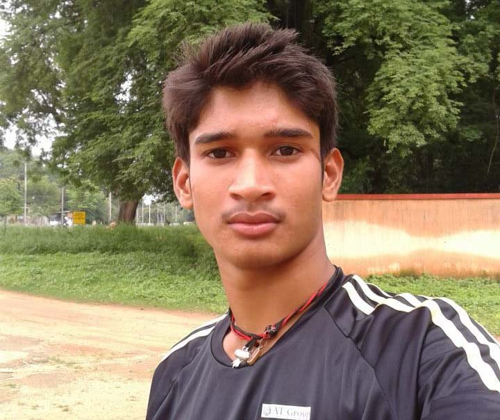File photo of Odisha cricketer Raj Kishan Patel