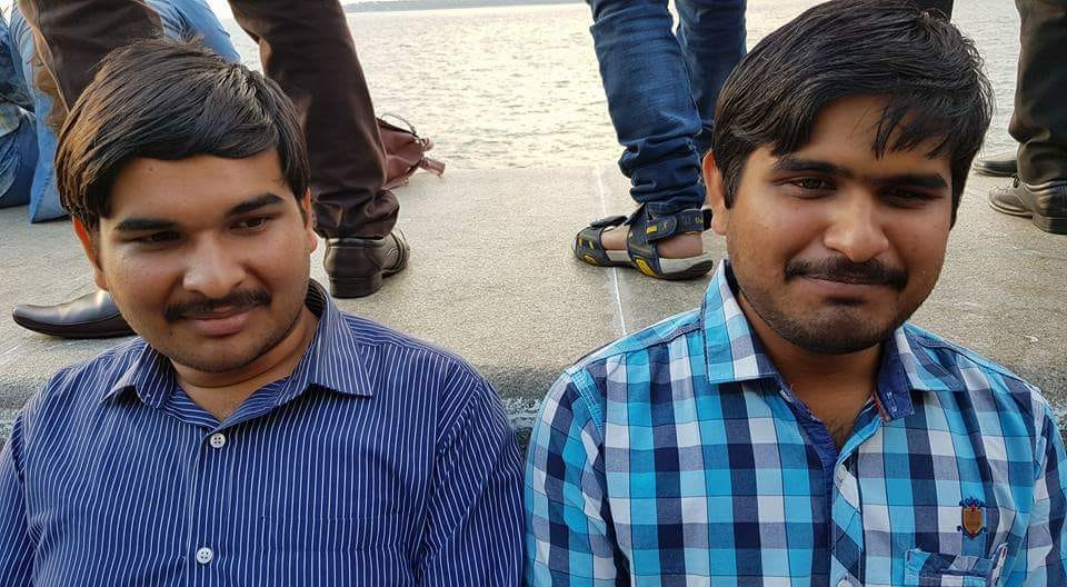 File photo of Odisha blind chess icons Prachurya Pradhan (Left) and his younger brother Soundarya Pradhan.