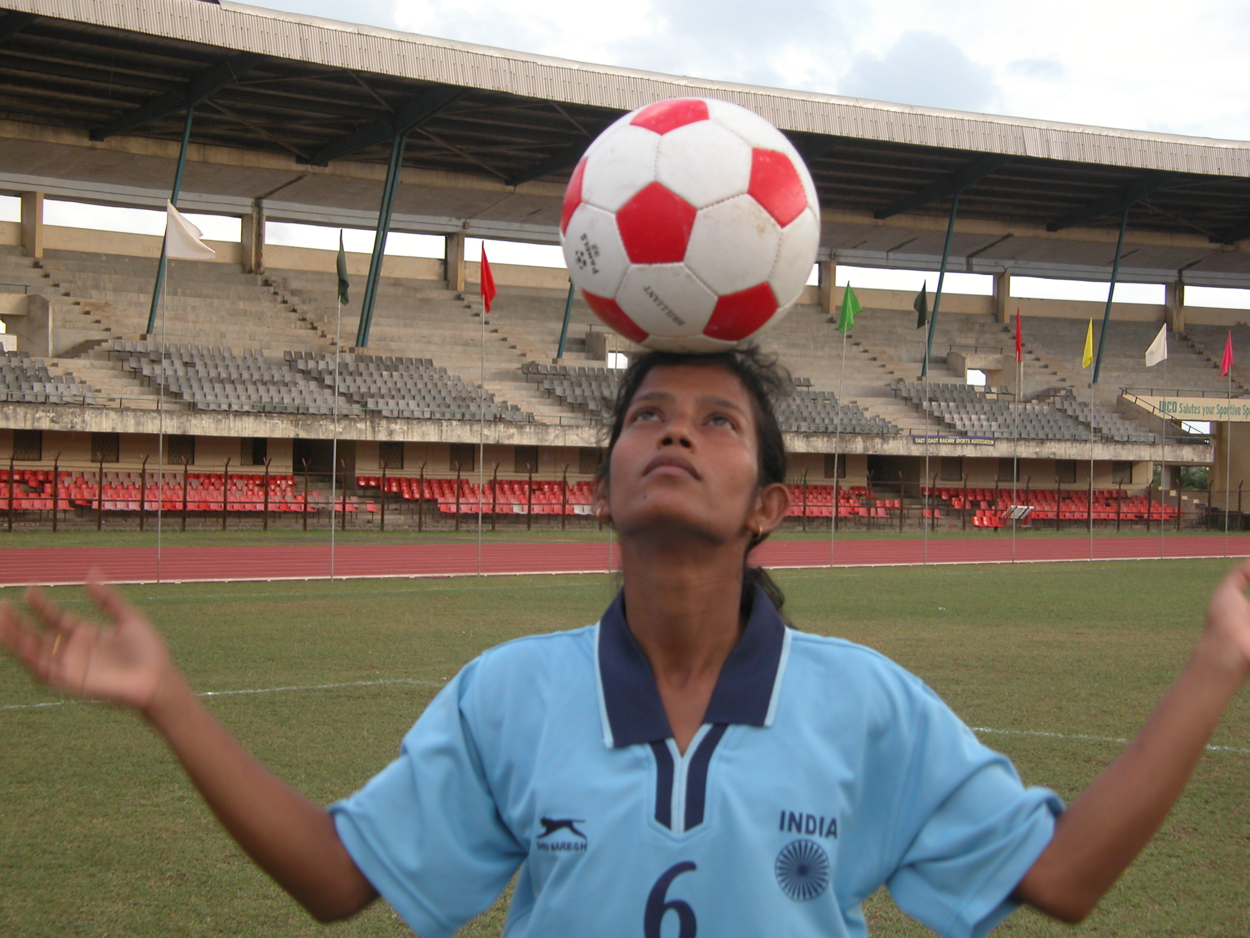 Ace woman footballer Sradhanjali Samantaray