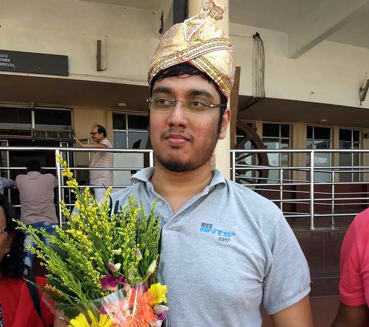 Swayams Mishra was accorded warm reception at Bhubaneswar Airport on his return home on 14 May 2019 after winning the title and securing his third GM norm at Polonia Wroclaw Master Cup in Wroclaw, Poland.