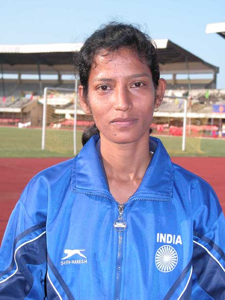 Orissa``s woman football international Sradhanjali Samantaray