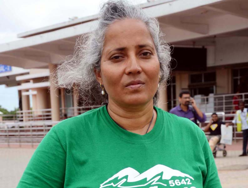 File photo of Odisha mountaineering legend Kalpana Dash