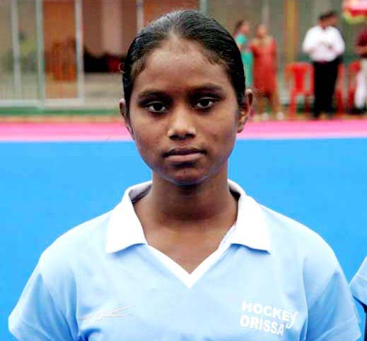 File photo Odisha woman hockey international Mariana Kujur