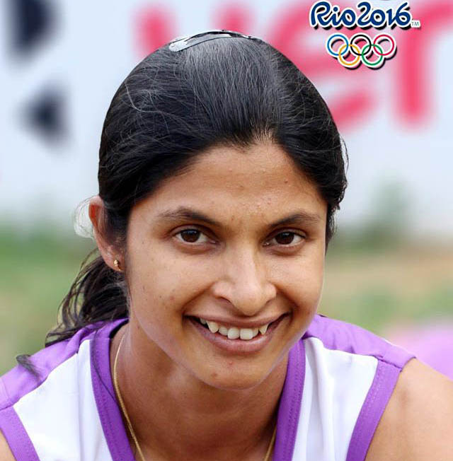 Undated file photo of Odisha woman Olympian Srabani Nanda.