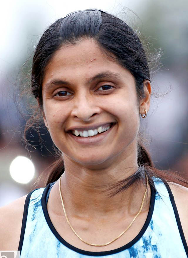 Undated file photo of Odisha woman sprinter Srabani Nanda.