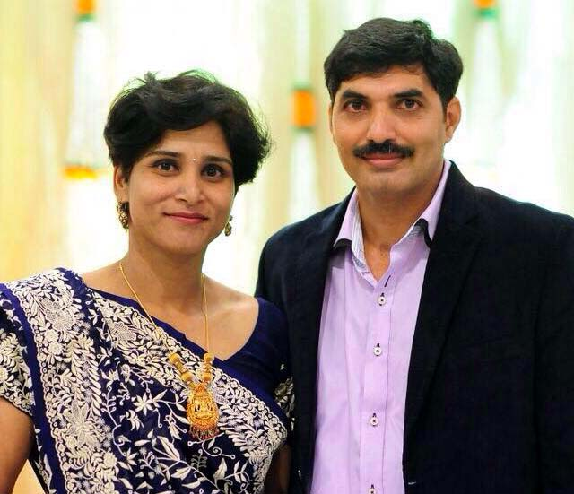 Undated file photo of Odisha woman Olympian Rachita Panda-Mistry with husband Homiyar Mistry.