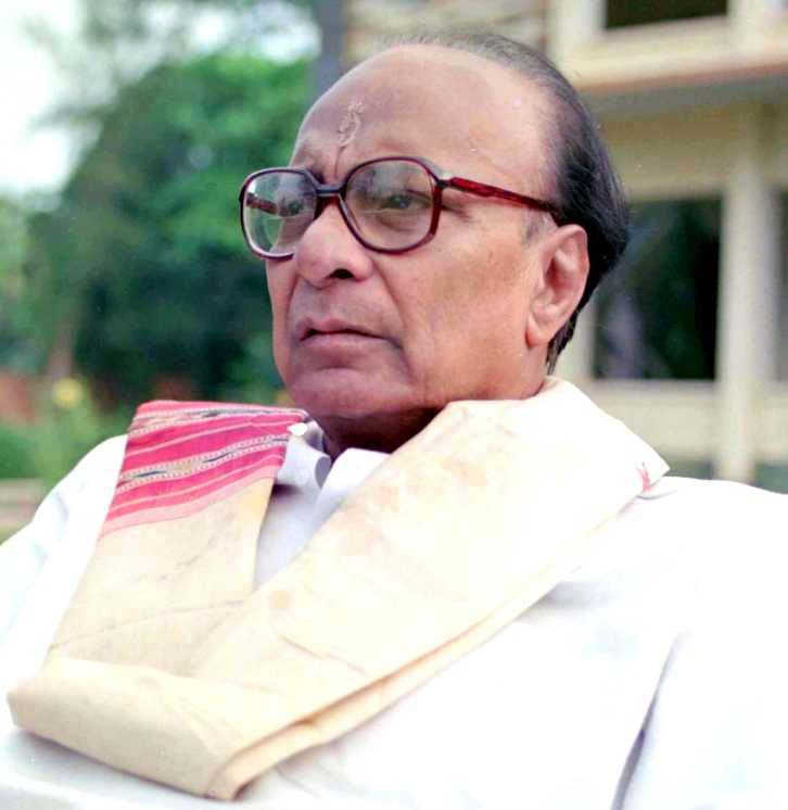 Undated file photo of former Orissa Chief Minister and sports promoter Biju Patnaik.